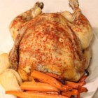 Healthier Baked Slow Cooker Chicken - The addition of carrots, onions, and parsley make this chicken recipe healthier, tastier, and more colorful.