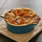 Kelley's Peach Cobbler - Fresh or frozen peaches can be used in this best-served-warm dessert. Top with whipped cream or vanilla ice cream for a truly decadent treat.