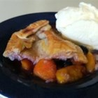 Little Ann's Peach and Blueberry Pie