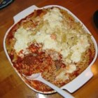 Baked Ziti with Turkey Meatballs - Turkey soup is not enough. Something different for that leftover turkey. Originally submitted to ThanksgivingRecipe.com.