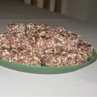 Bird Seed Squares - This is an easy, healthy, but yummy, no-bake snack that disappears quickly whenever I take it along. You can easily substitute other ingredients for the cereal part such as ground or chopped nuts, flax seeds, etc. If you don't have enough of one thing, just add more of another.
