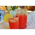 Watermelon Lemonade - Classic lemonade meets freshly pureed watermelon in this refreshing summer drink.