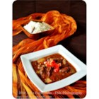 Tomato Bredie - This lamb dish is a traditional South African meal, and is good winter fare. Bredie is an old Cape name for a dish of meat and vegetables stewed together so that the flavors intermingle.