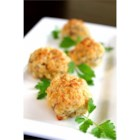 Parmesan and Parsley Sausage Ball Appetizer - Biscuit mix, pork sausage, Cheddar, Parmesan and parsley are mixed together to make these savory and crowd-pleasing sausage balls.
