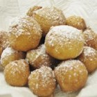 Zeppole - This is a simple recipe for an Italian delicacy. These fried ricotta doughnut-like cookies are dusted with confectioners' sugar and served warm.