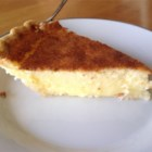Buttermilk Pie with Molasses - Sweet, rich and creamy, this is a custard pie that no one will guess is made with buttermilk! It 's wonderful as is, but downright sinful when adorned with a spoonful of molasses.
