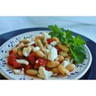 Tuscan Bean 'Goppel' - This easy and earthy side dish is great on it's own or served with some good crusty bread and a glass of wine. Add grilled vegetables to transform this into a hearty vegetarian entree.