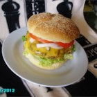 Honey Jalapeno Burgers - Honey and diced fresh jalapeno pepper give a sweet and spicy twist for an not-so-ordinary burger.
