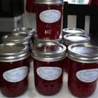 Plum Jam - A simple recipe of plums, sugar, pectin, and a little butter makes a delicious homemade jam.