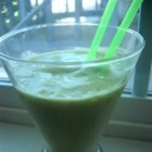 Avocado Energy Booster - Avocado and protein powder combine to create and unusual smoothie. The avocado gives it a nice, creamy body and a wonderful flavor!