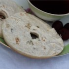 Cinnamon and Raisin Spread - Spread this creamy, lightly sweet raisin-packed blend on bagels, crackers or bread slices. It's a real treat as a snack or with brunch.