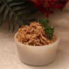 Really Simple Rice - Replacing water with low-sodium chicken broth gives this rice side dish with onion and garlic salt a more savory flavor.