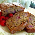 Raspberry Banana Bread - This moist and sweet banana bread gets an extra zing from raspberries. Serve it at brunch for a sweet treat or as a snack with your coffee.