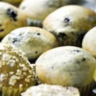 Mulberry Muffins - These muffins have fewer calories and fat than many muffins do. They're also a great way to use your ripe mulberries.