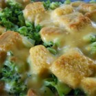 Broccoli Cheese Layer Bake - This is a recipe we have enjoyed in my family for several years. It has become a holiday staple and is very easy to make. In fact, it tastes better the next day or just cold out of the refrigerator.