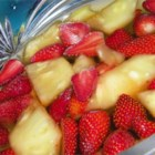 Lime Fruit Salad in a Mold - This sparkling lime gelatin salad is embedded with luscious bits of pineapple, cherries, grapes and pears, and takes only minutes to prepare! Allow several hours for Jell-O(R) to set.