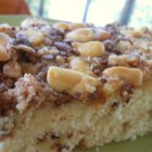 Toffee Bar Coffee Cake - This is a tasty crumb cake recipe I got from my sister. The toffee candy really makes it special.
