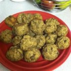 Aunt Mary's Eggplant Balls - These hearty, delicious eggplant morsels can be used as a replacement for meatballs, or they can be fried into patties and eaten like burgers.
