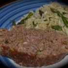 Meatloaf...a Little Southwest Style - This meatloaf includes salsa, barbeque sauce, and ketchup.