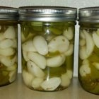 Pickled Garlic - These pickled garlic cloves take a long time, but they're easy to make and are a real treat.