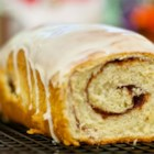 Cinnamon Raisin Swirl Bread - Delicioso! Made using bread machine and normal oven, also usable without bread machine. Like a giant Cinnamon bun.
