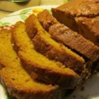 Pumpkin Spice Bread - Reminiscent of pumpkin pie, but without the crust, this pumpkin spice bread is sweet, spicy, and extra moist.