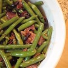 Sauteed Green Beans - Sauteed green beans with bacon and slivered almonds.  I made this as a side for Easter dinner this year and everyone raved!