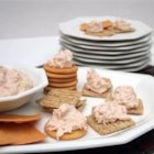 Salmon Spread II - Poached salmon elevates a simple cream cheese spread to new heights! Serve with crackers.