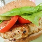 Cilantro Chicken Burgers with Avocado - A delicious blend of ground chicken, cilantro, and seasonings make this chicken burger awesome!