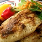 Pan Fried Halibut - This flavorful halibut is spiced with herbes de Provence and seafood seasoning and then pan-fried for a quick and easy dinner.