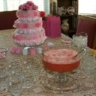 Yummy Pink Punch - Cranberry ginger ale and raspberry sherbet, we now pronounce you Yummy Pink Punch.