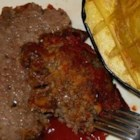 Tangy Sweet and Sour Meatloaf - An easy meatloaf to make, served with a tangy sweet and sour sauce.