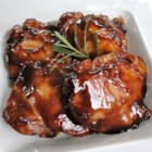 Baked Teriyaki Chicken - A spicy, homemade teriyaki of soy sauce, cider vinegar, ginger and garlic enlivens your choice of chicken cuts.  Doubles easily to satisfy the hoards.