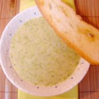 Gourmet Cream of Broccoli Soup - Just enough for two people, easy to prepare, and freezes well. If freezing, do not add cream until ready to use.