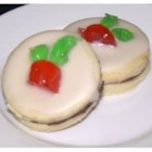Empire Cookies - Jam filled shortbread cookies have been a longtime favorite on Scottish and   English tea tables. Now popular in Canada!  Store in a covered tin.