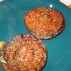 Grilled Portobello Mushrooms - These meaty, flavorful mushrooms are gussied up with olive oil, bits of red pepper, garlic, and onion powder, then grilled to perfection.
