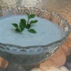 Easy Greek Yogurt Cucumber Sauce - This concoction is a result of my experimental efforts in trying to copy a favorite Greek restaurant's tzatziki sauce. Serve with gyros, pita bread, chips, or raw veggies.