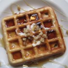 Crispy Walnut Maple Waffles - I created this recipe when trying to get my husband to stop eating fast food for breakfast. Crispy on the outside and full of maple walnut flavor on the inside. I make 6 at a time and freeze them -- just pop in the toaster or microwave to reheat. Serve with maple syrup and a sprinkling of walnuts.