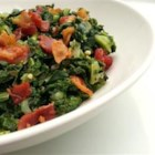 Down Home Collard Greens - This delicious collard green recipe goes well with any soul food recipe or poultry entree.