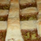 Green Tomato Pie II - This is a simple and sweet classic green tomato pie.