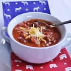 Presidential Debate Chili - Use cans of ranch-style beans to add some heartiness to this easy chili recipe, perfect for presidential debate watching!