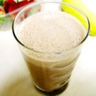 Chocolate Strawberry Banana Milkshake - A wonderful milkshake that can easily be adapted for low-sugar diets. My mother got me started on this 20 years ago.  I rarely add sugar or sweetener, but I realize that some people enjoy a bit more sweetness. You can substitute orange juice for milk if you like.