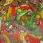 Savory Beef Stir-Fry - This quick stir-fry beef dish uses frozen mixed vegetables to keep your preparation time minimal.