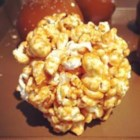 Caramel Popcorn Balls - Easy to make and delicious. Kids Love them.