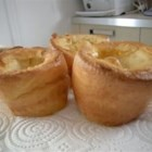 Yorkshire Pudding I - A holiday baked favorite made with flour, eggs, milk and butter.