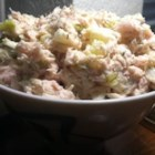 Southern Apple Tuna Salad - Canned tuna is given a fresh lift with chopped apple, sweet pickle relish, and dill in this tuna salad recipe.