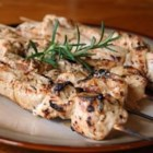 Rosemary Ranch Chicken Kabobs - This rosemary ranch chicken recipe is so delicious, tender, and juicy the chicken will melt in your mouth.  Even the most picky eater will be begging for the last piece.