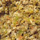 Homemade Dog Food - Whether you cook for your pooch once in a while or everyday, this recipe will be sure to make some tails wag. This turkey, rice, and vegetable dog food can be fed to the dogs on its own or mixed in with kibble. Lucky Fido!