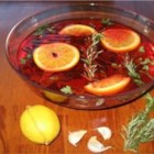 Honey Citrus Turkey Brine - Honey, oranges, lemons, and red pepper flakes make this a nicely spiced and refreshing brine for your next turkey dinner.