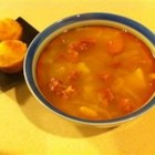 Chourico Stew - A hearty winter stew uses chourico, a Portuguese smoked sausage, plus plenty of vegetables.
